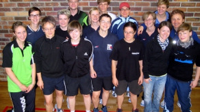 Gruppenbild Trainingslager in Lindow
