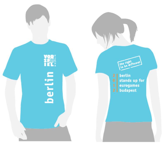 T-Shirt EuroGames 2012